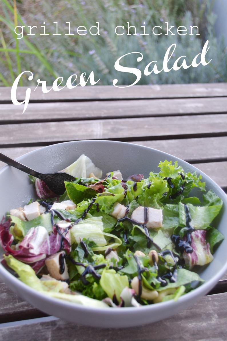 grilled chicken green salad -DSC_0951